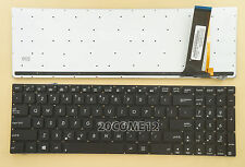 NEW for ASUS N56VV N56VZ N76VB N76VJ N76VM N76VZ Keyboard Backlit US No FRAME