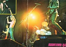 BOOMTOWN RATS on stage Centerfold magazine POSTER  16x10 inches