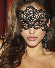 Sexy Lingerie Babydoll Underwear Cosplay Costumes Embroidered Venice Eye Mask