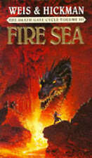 Fire Sea by Tracy Hickman, Margaret Weis (Paperback, 1992)