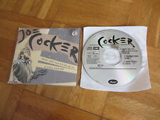JOE COCKER What Are You Doing With A Fool 1990 GERMANY CD single