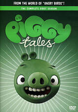 Piggy Tales Season 1 DVD * From the makers of Angry Birds * Great Family Fun