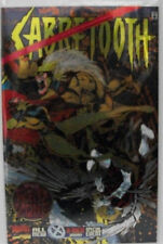 Sabretooth Into the Red Zone #1 (1995, Marvel) NM wraparound foil cover