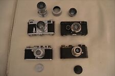 Leica Ic, Leica IIIc, Contax I, Contax II Cameras and lenses Leitz Zeiss.