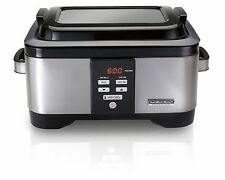 NEW Hamilton Beach Professional Sous Vide Water Oven Slow Cooker 6 Quart Pot