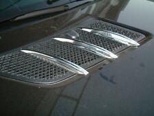 05-11  M-Benz W164 ML  Bonnet air-vent chrome fins cover  6pcs