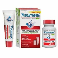 Traumeel Relief Value Pk Pain Relief 100 Tablets and Ointment w/Arnica FREE SHIP