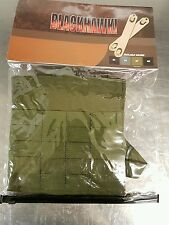BLACKHAWK SIDE PLATE CARRIER POUCH + SPEED CLIPS - MOLLE  - OLIVE DRAB - FORCES