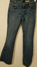 A chip & pepper denim Junior's Blue La jolla Flare Jeans Size 5X31(#600)