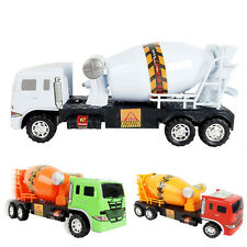 11.5*27CM Concrete Cement Mixer Diecast Car Truck Model Toy Gift for Kids Child
