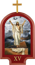 5.25 x 9.75 Inch - Stations of the Cross - Set of 15