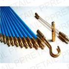 LARGE FULL CABLE ACCESS KIT Tie/Draw/Pull/Push 10 Screw In Rods Tool Set Wire