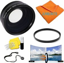 58MM FISHEYE LENS +MACRO +UV FILTER FOR CANON REBEL EOS 1100D 500D T3I T5I 600D