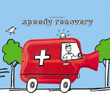 """Carte Prompt Rétablissement """"bouteille d'eau chaude ambulance"""" taille 6.25 """"x 6,25"""" 9094 oceh"""