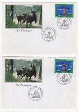 FRANCE Europa la Camargue  2 FDC 1999 /FDCF8