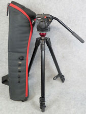 Manfrotto 755XB Tripod with Manfrotto 501HDV Head with Bag