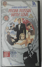 (PRL) VIDEOCASSETTA VHS CASSETTE FROM RUSSIA WITH LOVE JAMES BOND 007
