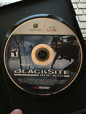 BlackSite: Area 51 (Microsoft Xbox 360, 2007) Disc Only