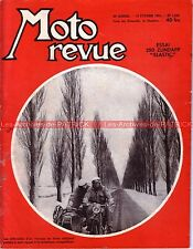MOTO REVUE 1226 ZUNDAPP 250 Elastic PARILLA 175 INDIAN Four BSA RDA GUZZI 1955