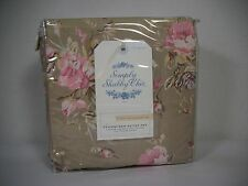 Rachel Ashwell SIMPLY SHABBY CHIC FLORAL Rose CASTLE DUVET Full/Queen Set