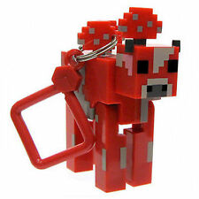 Minecraft Series 2 Mooshroom Keyring Key ring Bag Hangers Mine Craft Toy Figures