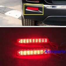 Red LED Rear Bumper Reflector fog Light  For Toyota Highlander 2011 2012 2013