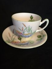 Royal Stafford Bone China Floral Tea Cup And Saucer England