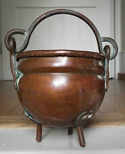 Arts & Crafts Miniature Copper Cauldron Ornament Decoratie Item