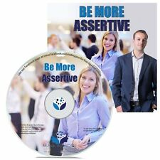 Be More Assertive Hypnosis CD + FREE MP3 VERSION improve your self confidence