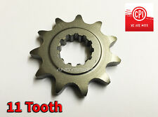 11 Tooth 11T Heavy Duty Front Gearbox Drive Sprocket CPI SM50 SM SX50 SX 50 50cc