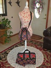 LeSportSac Medium Weekender & Bucket Crossbody- Red/Black Plaid (1 NWT & 1 NWOT)