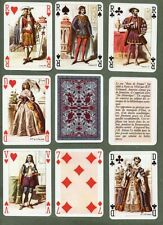 Collectible playing cards courts. Rois de France ( French Kings ) 1975.