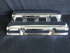 VALVE COVERS CHROME STEEL SET OF 2 AMC / JEEP V8 290 - 304 - 360 - 390 - 401