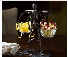 Pottery Barn ~ WALKING DEAD CONDIMENT ~ Snack Bowl Set Halloween Party!!