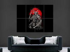 JAPANESE SAMURAI SWORD WARRIOR POSTER  GIANT WALL ART PICTURE PRINT