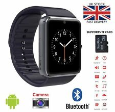 GT08 Bluetooth Smart Watch NFC For HTC Samsung iPhone iOS Camera SIM Slot-GT-B