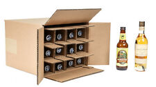 12 Bottle  375 ml wine, beer, Shipping Box SpiritedShipper.com boxes