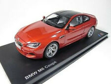 Model Car; 2012 BMW M6 Coupe  (F12) Metallic Orange  1:18 scale  80432218738
