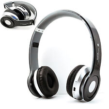 Wireless Stereo Bluetooth Headset Headphones Earphone With FM For Samsung LG HTC