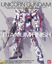 BANDAI MG 1/100 RX-0 UNICORN GUNDAM Ver Ka TITANIUM FINISH Plastic Model Kit