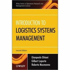 Introduction to Logistics Systems Management (Wiley Essentials in Operations Res