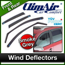 CLIMAIR Car Wind Deflectors OPEL VAUXHALL VECTRA C 4 Door 2002 ... 2008 SET