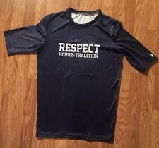Notre Dame Navy Limited Edition Respect Under Armour Team Issued Undershirt 2xl
