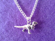 Dinosaur Necklace * T-REX * Novelty Charm Jewellery prehistoric caveman monster
