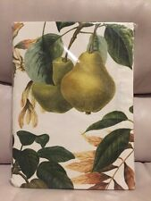 "Williams Sonoma Fall Botanical Pear Tablecloth 70x108"" 100% Cotton"