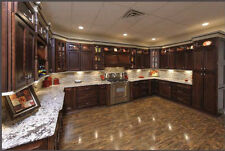 York Chocolate Kitchen Cabinets-FINISH SAMPLE RTA-All wood, IN STOCK-QUICK SHIP
