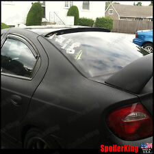 Rear Roof Spoiler Window Wing (Fits: Dodge Neon 2000-05) SpoilerKing
