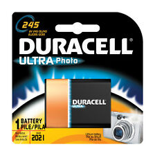 NEW!! Duracell Ultra Lithium Camera Battery 245 6 volts