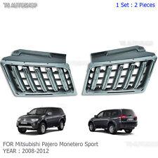 Front Chrome Grill Grille For Mitsubishi Pajero Montero Sport 2008 10 11 13