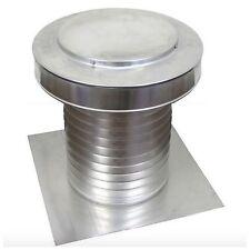 Aluminum Flat Roof Exhaust Static Vent Attic Ventilation Cap Moisture Ventilator